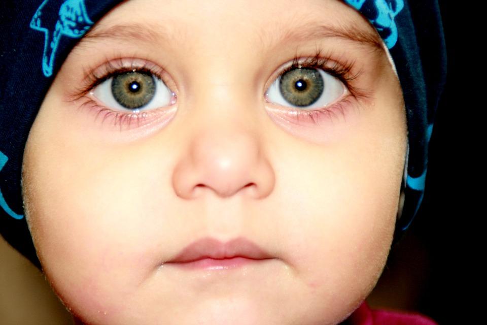 ¿Qué le da color a los ojos?